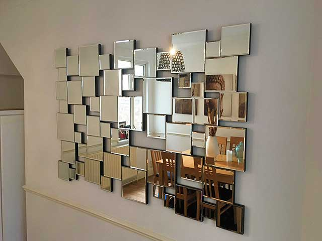 mirror wall mounting services