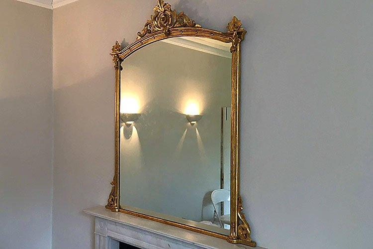 mirror wall mounting kensington